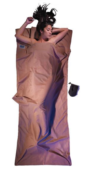 Cocoon TravelSheet - Sacos de dormir - Egyptian Cotton beige